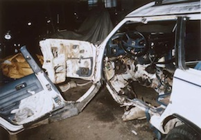 Bombed car sm